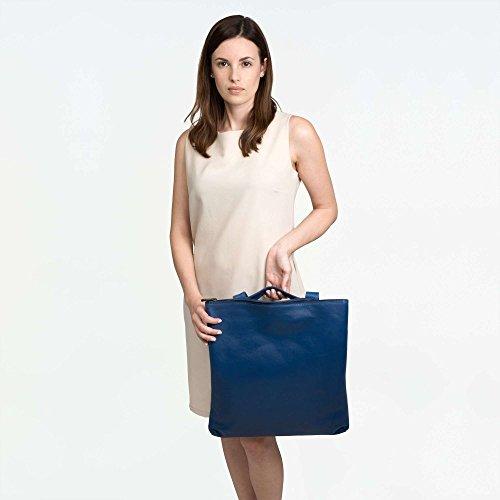 A Borsa Blu Compact 14 Donna 608 1521 Spalla Dudu CwqIptq