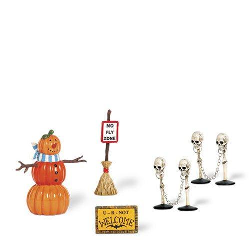 [Dept 56 - Halloween Village - Halloween Decorating Set by Department 56 - 800026] (Spirt Halloween)