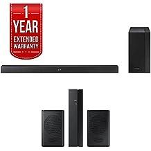 Samsung 200W 2.1 Ch Soundbar w/ Wireless Subwoofer (HW-M360/ZA) + Rear Speaker Bundle Includes, Samsung (SWA-8500S/ZA) Wireless Rear Speakers Kit & 1 Year Extended Warranty