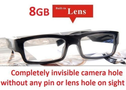 1c2dcac4efe0 NEW 2015 8GB Hidden Camera Glasses NO PIN or LENS HOLE Micro HD Wireless  Audio Video