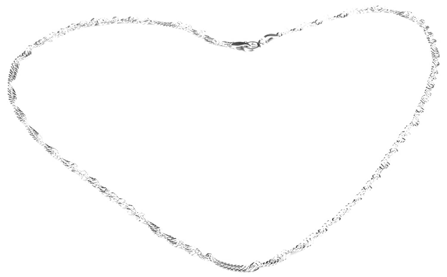 swank silver latest twist design 925 sterling silver chain for men