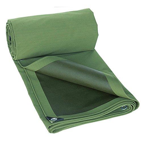 ビル溶かす傾向がある陸軍グリーン色の繊維プラス厚い雨布防水日焼け止め11種類の倉庫用のサイズは建設トラック工場や企業の湾岸桟橋に使用することができます (サイズ さいず : 5*8m)