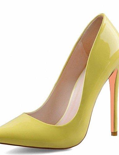 Y tac¨®n Casual 5 cuero Stiletto Zq Oficina Noche De Eu34 tacones Trabajo boda Vestido us4 5 Cn33 Patentado Mujer 2 4 Zapatos Silver tacones Fiesta Microfibra Uk2 q7wftzw
