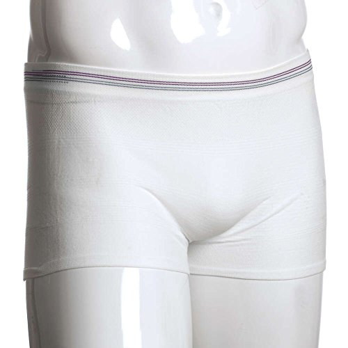 MediChoice Incontinence Underwear, Holds Liners and Pads in Place, Seamless Knit, Polyester Spandex, XXL To XXXL, Purple Gray (Pack of 5)