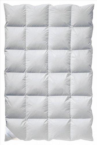 Billerbeck 5541760005 Daunendecke E05 Polaris Kassette II AS, 135 / 200 cm weiß