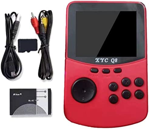 Red Iycorish with 512M TF Card Retro Handheld Video Games Console for NES//SNES//MAME//MD 16 Bit Arcade Game Players