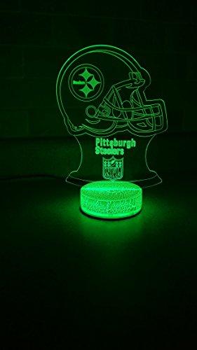 (Pittsburgh Steelers 3D LED Night Light 7)