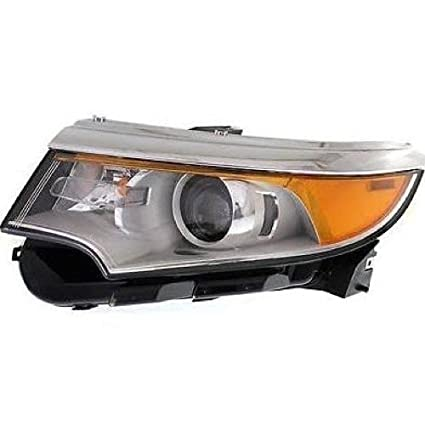 Go Parts Compatible   Ford Edge Front Headlight Headlamp Assembly Front Housing