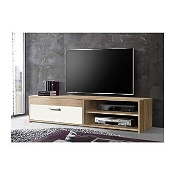 grand choix de 81bb7 86421 KATSO Meuble TV 120 cm coloris chene/blanc