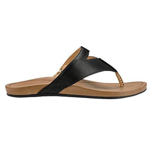 tan Lala OluKai Black Sandals Women's FIZxw44zq