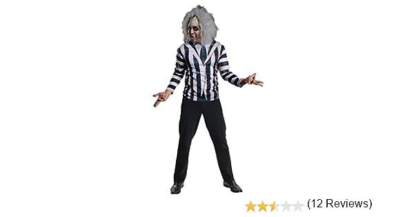 Kit disfraz de Beetlejuice para hombre: Amazon.es: Juguetes y juegos