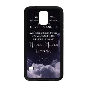 Peter Pan Samsung Galaxy S5 Cell Phone Case Black xlb-049212