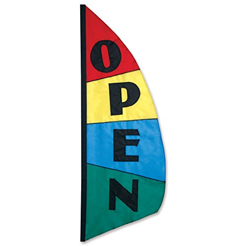 Premier Kites 26212 Commercial Feather Banner, Open Block, 8-1/2-Feet For Sale