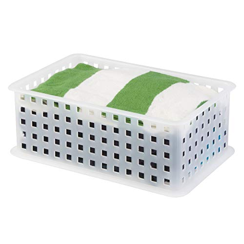 Baskets - Frosted - Set of 2
