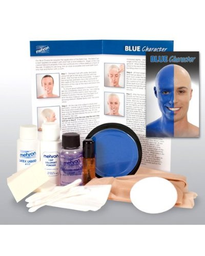 Blue Person Character Makeup Kit (Fun Group Costumes)