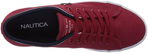Nautica Heren Scheepsromp 2 Sneaker Rode Doek