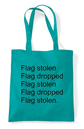 Repeat Flag Pvp The Tote Online Statement Bag Mode Stolen Gaming Multiplayer Capture Dropped Emerald Shopper rEXCrwnq