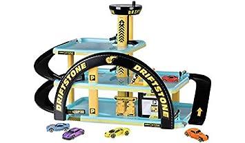 NEW Chad Valley Driftstone Carpark /& Cars Playset Garage Playset Encourage