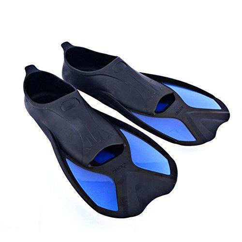 ouderstech Smart Short Blade Swim Fins for Training Snorkeling and Snorkeling
