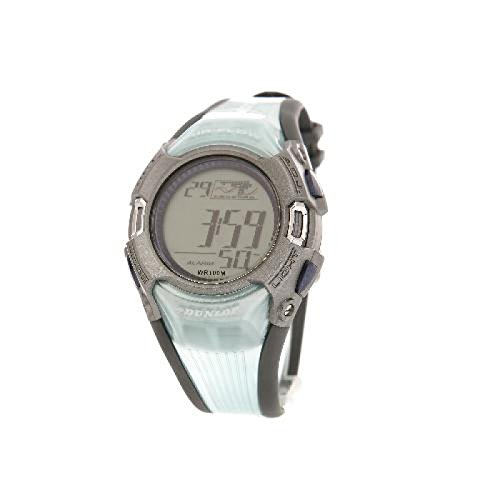Dunlop Mint Green Rubber Strap Digital Calendar Gents Sports Watch DUN-46-G04 (46 Countdown Days Christmas)