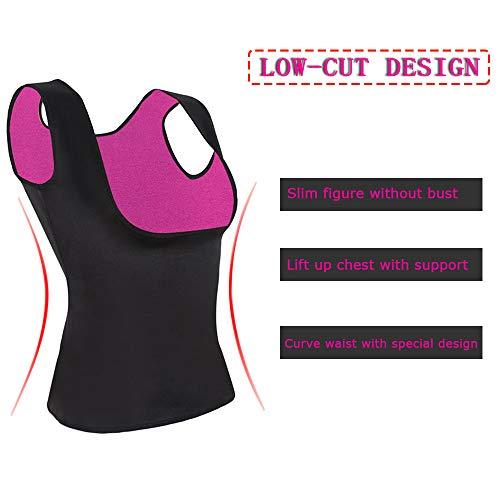 102d2e33f59ff Click to enlarge. HomeWeight Loss GoldFin Women Sauna Vest Cami Hot Shaper  Neoprene Sweat ...
