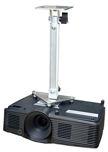 PCMD, LLC. Projector Ceiling Mount Compatible with NEC VE280 VE280X VE281 VE281X VE282 VE282B VE282X (Telescoping 13-20-Inch Extension) (Nec Ve282b)