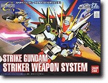 Gundam SD-259 Strike Gundam Striker Weapon System