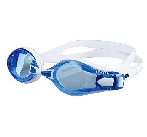Trasparente Lente Anti nuoto SYXSN Women Occhialini red Indoor Nebbia Outdoor Uomini e impermeabile per da Frame Goggle Nero protezione Swim Adulto Fitness UV Large con 7xBO78r