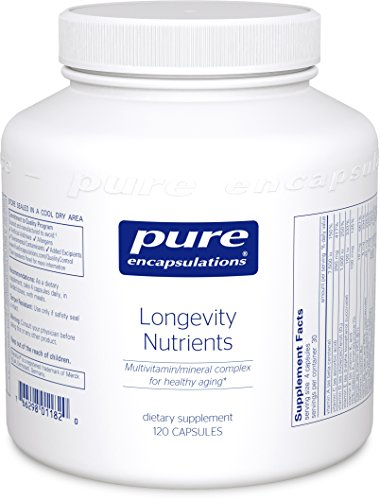 Pure Encapsulations Longevity Nutrients Multivitamin