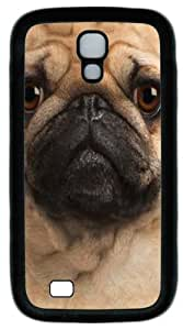 Cool Painting Samsung Galaxy I9500 Cases & Covers -Big Pug Face PC Rubber Soft Case Back Cover for Samsung Galaxy S4/I9500