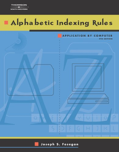 Alphabetic Indexing Rules: Application by Computer (with...