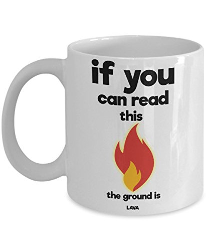 The Ground Is LAVA Game Coffee Mug