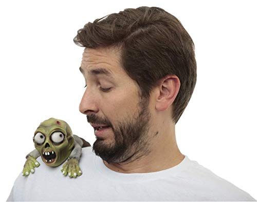 Ghoulish Productions Green Zombie Shoulder Buddy Halloween Clip-On