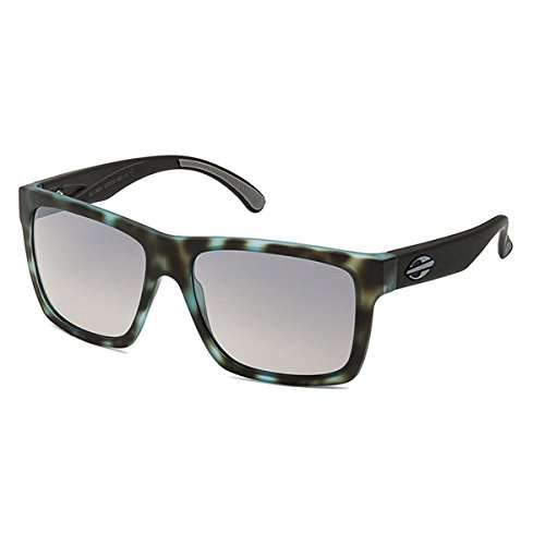 Mormaii San Diego Sunglasses, Black and Blue Frame with Grey - Mormaii Sunglasses