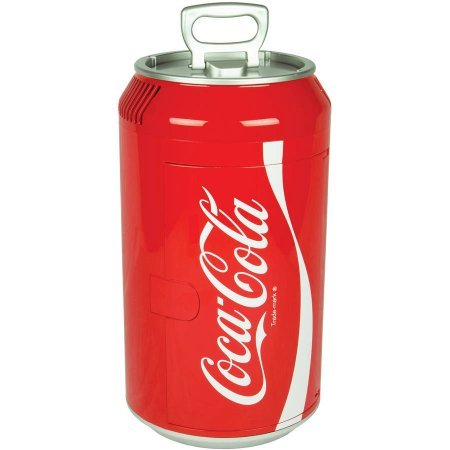 Coca Cola mini Plastic Can fridge CC06-G