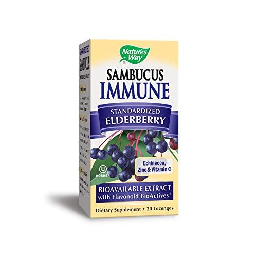 Nature's Way Sambucus Immune Lozenge, 30 Count