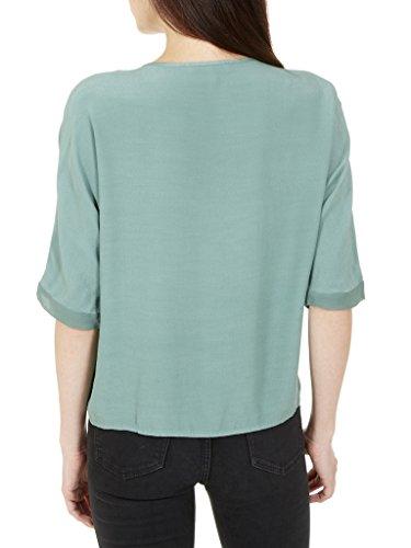Camisa de mujer Gina, de manga corta, de verano - Large - verde