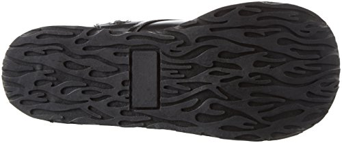 Demonia Door Pleaser Mens Trashville-502 Veterschoen Zwart