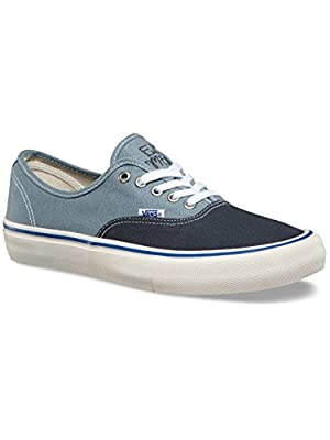 Vans - Mens Authentic Pro Skate Shoes, Elijah Berle Navy, 11.5