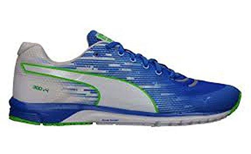 PUMA Men's Faas 300 V4 Running Shoe, Strong Blue/White/White, 8 M US