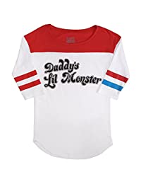 Suicide Squad Harley Quinn Daddy's Little Monster Shirt