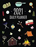Camping Planner 2021: Stylish Daily