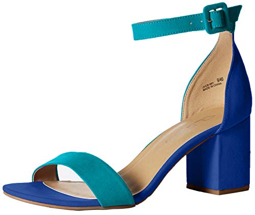 CL by Chinese Laundry Women's Jody Heeled Sandal turquois/Blue Suede 9.5 M US Chinese Laundry Womens Shoes
