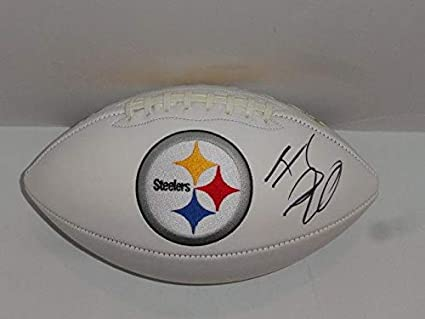e3af32174 T.J. Watt Signed Ball - Tj Logo Proof - Autographed Footballs at ...