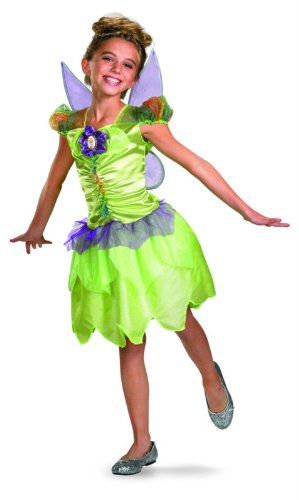 Tinker Bell Rainbow Classic Costume - Extra Small (3T-4T) (Rainbow Wings Costume)