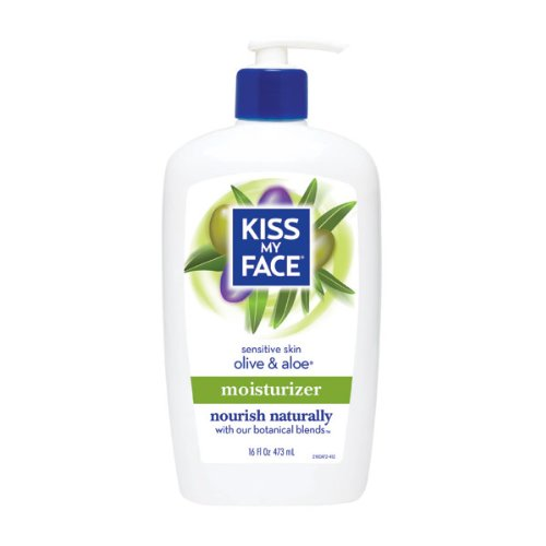 Olive & Aloe Fragrance Free Lotion (480mL) Brand: Kiss My Face