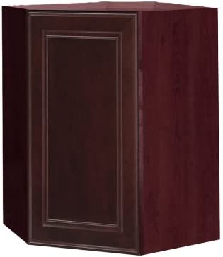 Amazon Com Kitchen Classics 24 In X 30 In Merlot Wall Cabinet Home Kitchen