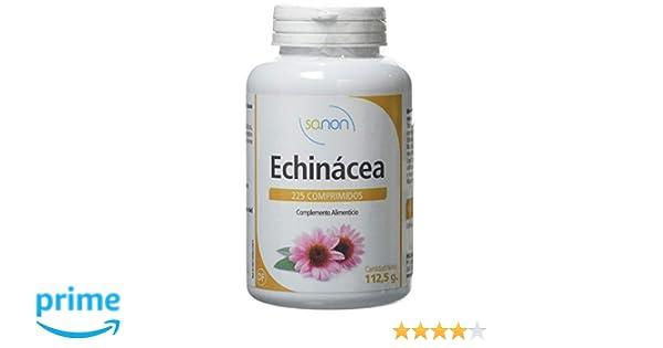 SANON Echinácea 225 comprimidos de 500 mg: Amazon.es: Salud y cuidado personal