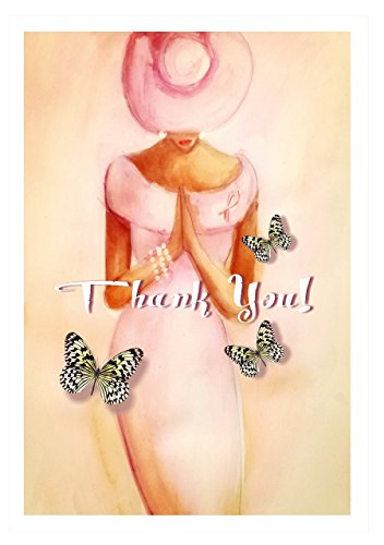 Pink Diva Alone Greeting Cards Thank You by See Jane Dream