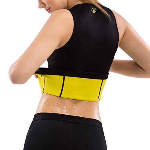 21dbc6cea4767 Hot Shapers Women s Cami Hot Belly Fat Burn Sauna Shirt. Seamless ...